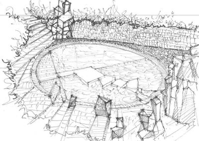 Landscape Design Scetch
