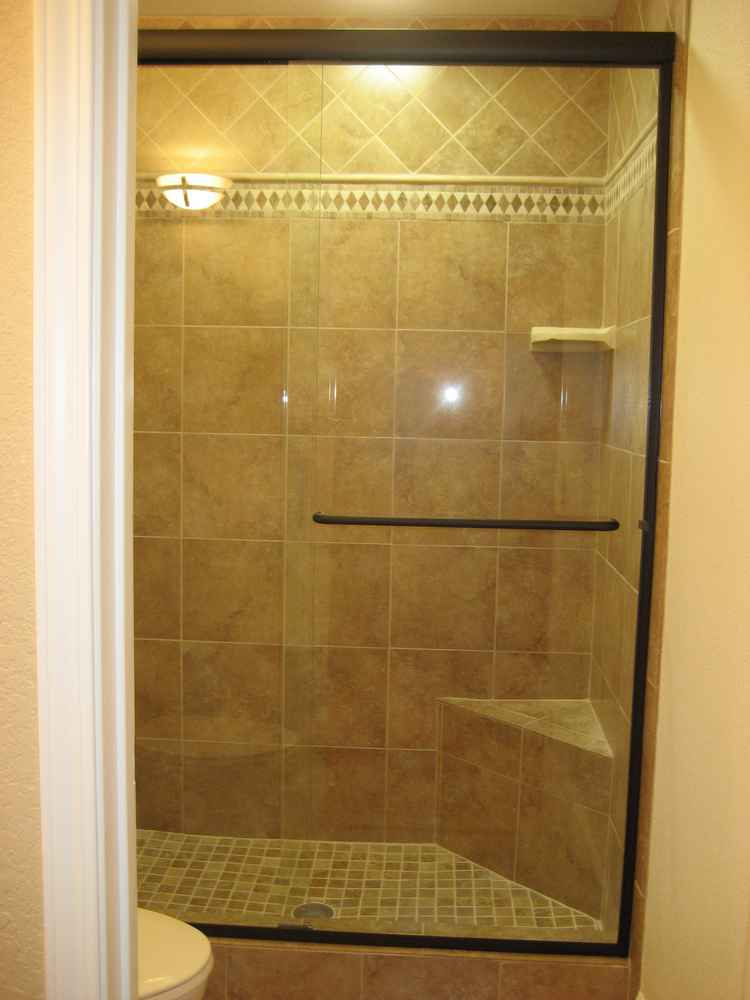 Bathroom Tile Accent Liners Shower Glass Doors Mosaics