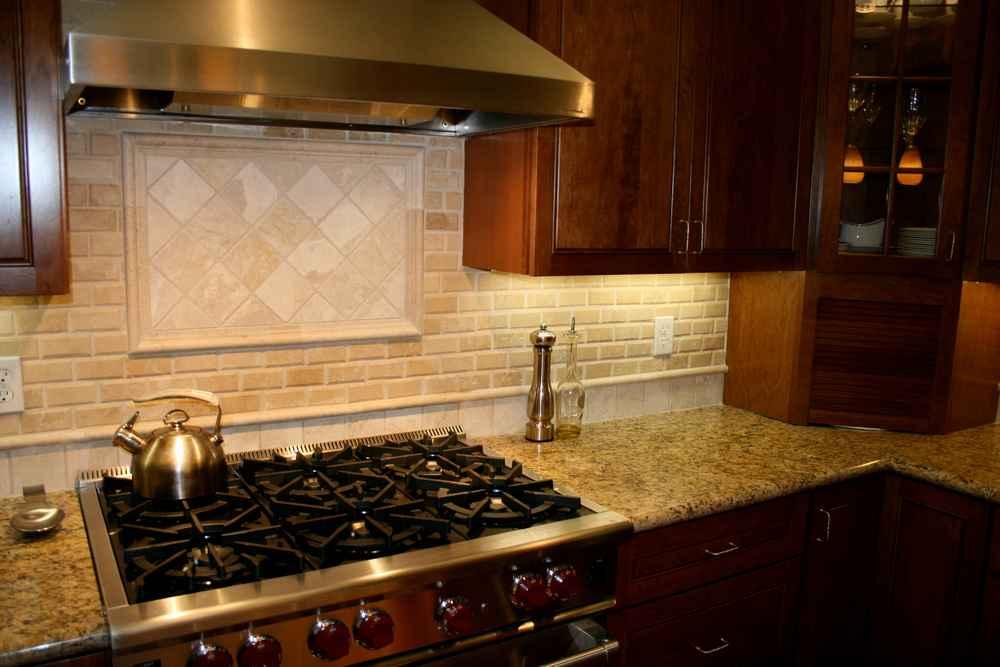 Kitchen Tile Stone Quartz Counter Backsplash Tile